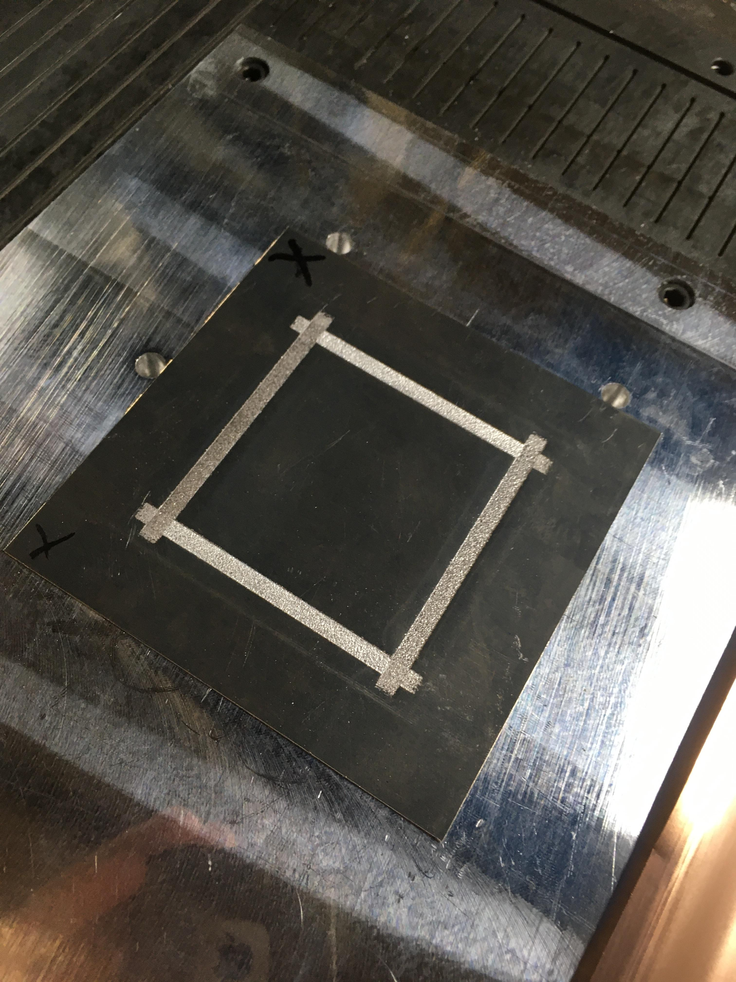 Four seam welds creating a hermetic seal on an aluminum foil pocket